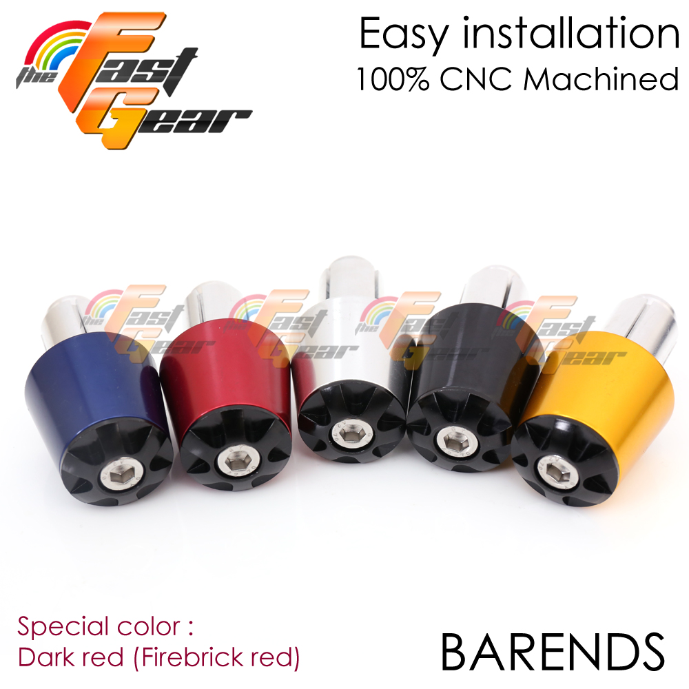 Not for R6S 2006-2016 STORM Red CNC Bar End Weights For Yamaha YZF R6